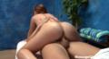 Redhead Massage Teen Sliding On My Dick