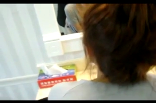 Taiwan couple having sex infront of toilet mirror