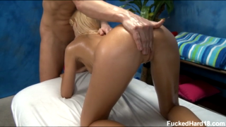 Massaging And Pounding Ericas Perfect Body