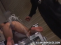 The sexy doll is staying in doggy getting tortured