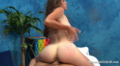 Sexy Brunette Dicked Hard With Fat Long Cock