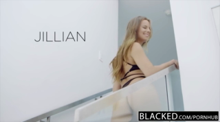 Jillian Janson is having gentle anal sex with a black guy and enjoying it a lot