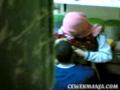 Cewek Jilbab Mesum di Dapur