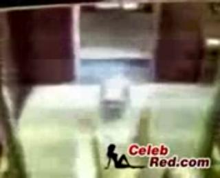 Arab Hijab Woman Taped Having Affair In Elevator
